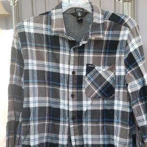 Volcom Mens flannel shirt